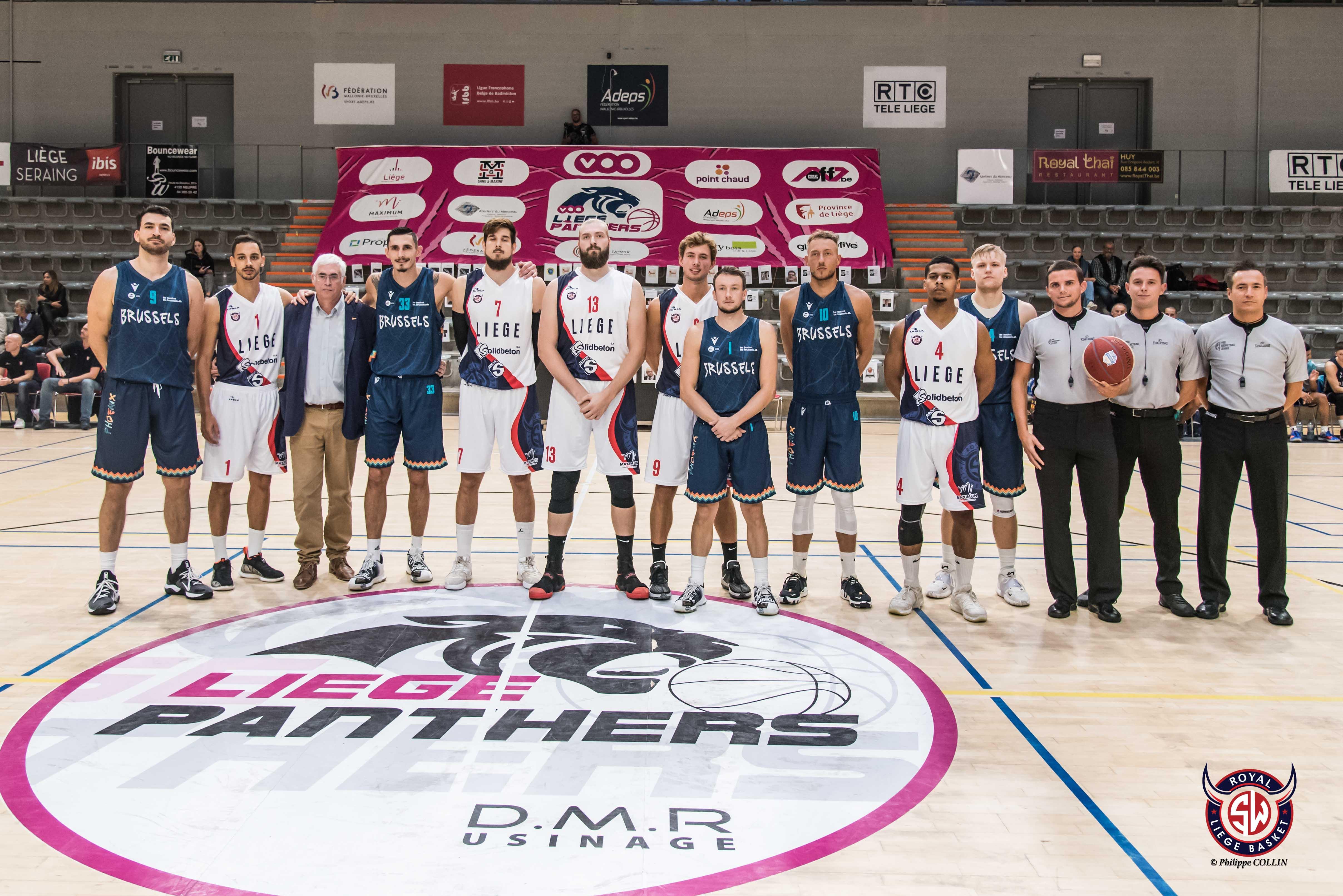 RSW Liège Basket - Phoenix Brussels : les photos