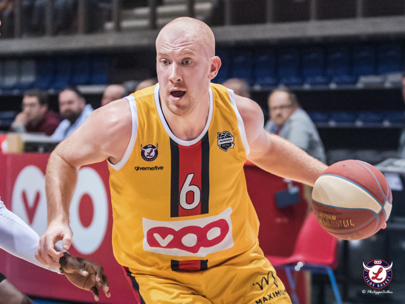 MVP Game 5 : Brieuc Lemaire